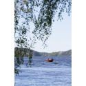 Sjön Aspen i Lerum