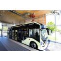 Göteborg får sin första elektriska busslinje