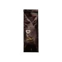 Hjärtats svarta te med smak av apelsinchoklad