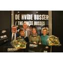 Vinderne i Sportgoodsfondens og Nationalmuseets 'Hvide Busser konkurrence'