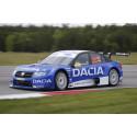 Jobbig fredag för Dacia Dealer Team