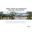 Stockholmsenkäten - presentation och statistik