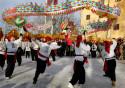 Kinesiskt nyår, drakdans