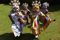 Chamdans utförd av tibetanska buddhistmunkar