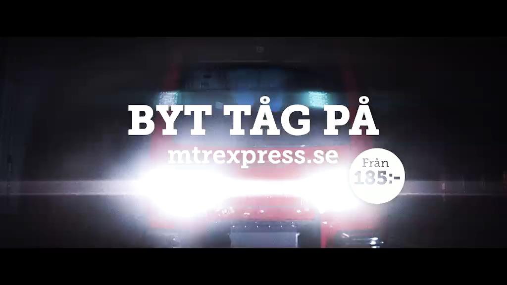 Äntligen! Nespresso på snabbtåg mellan Stockholm och Göteborg