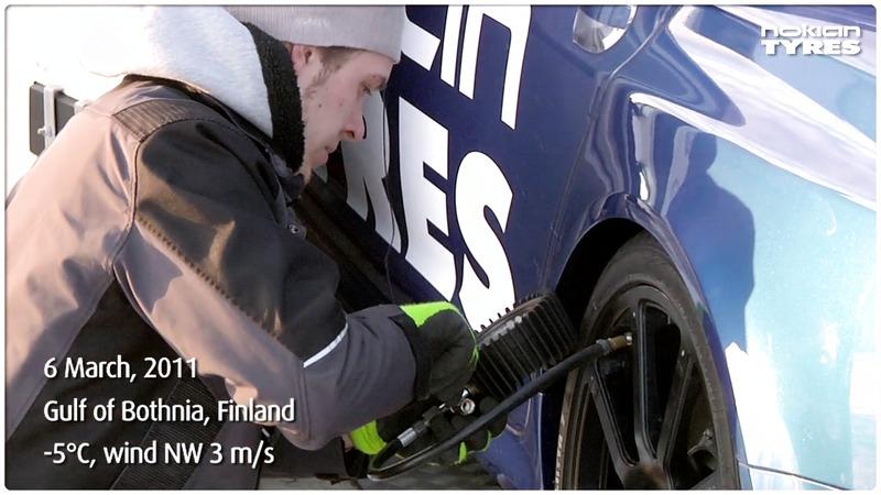 331,6 km/h, nytt världsrekord på is!