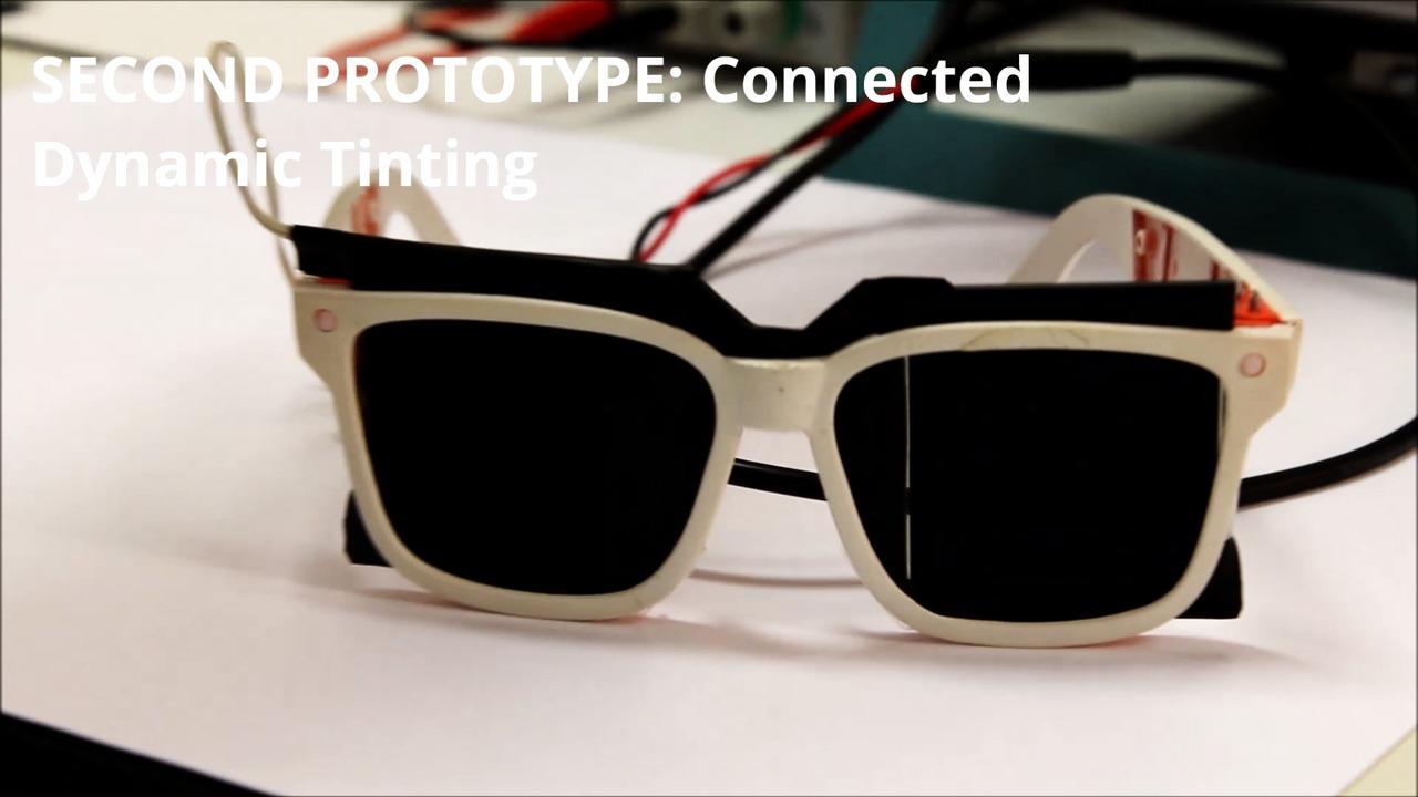 Prototypvideo för SKUGGA - Självreglerande solglasögon med dynamisk toning