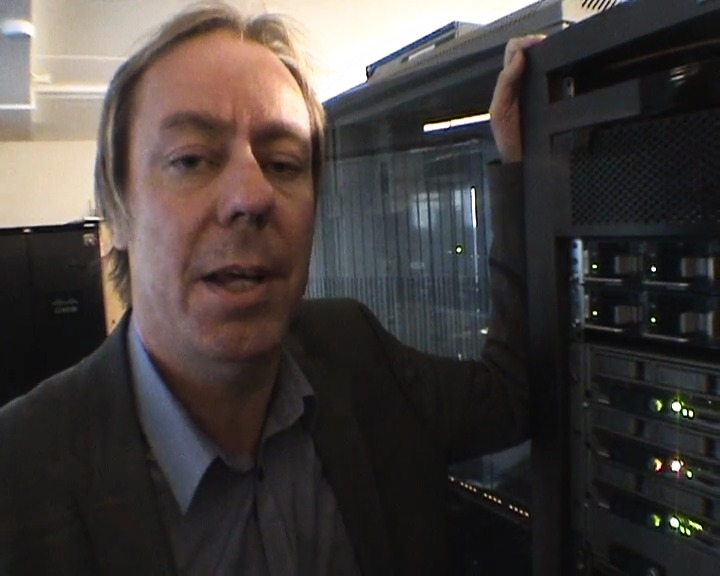 Cisco och Intel i datahallen