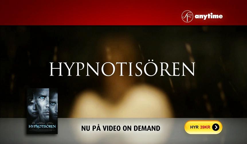 SF Anytime webb-tv-reklam för Hypnotisören