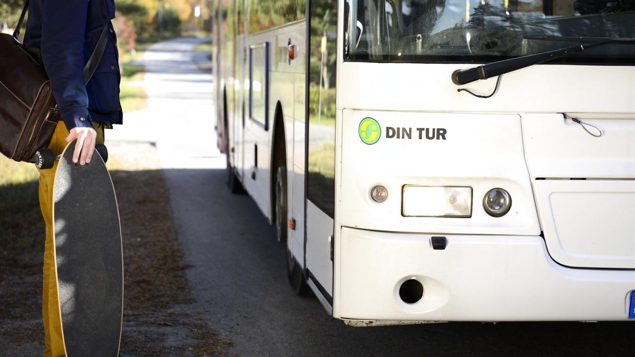 Testresenär på Buss - Örnsköldsvik