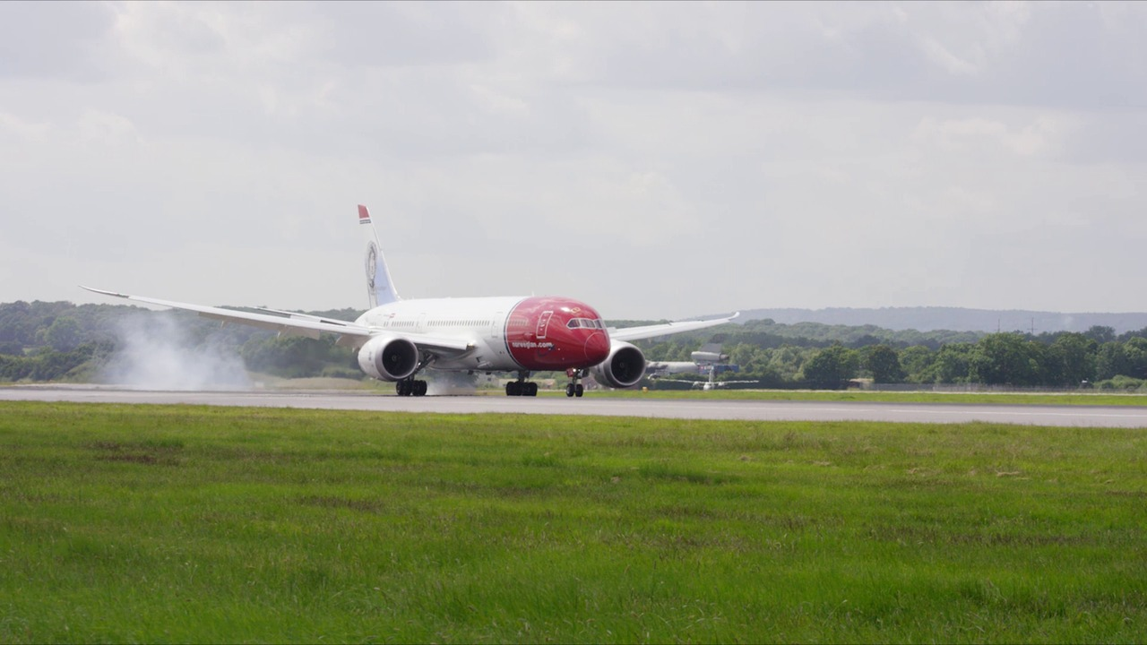 Norwegian Dreamliner London Gatwick