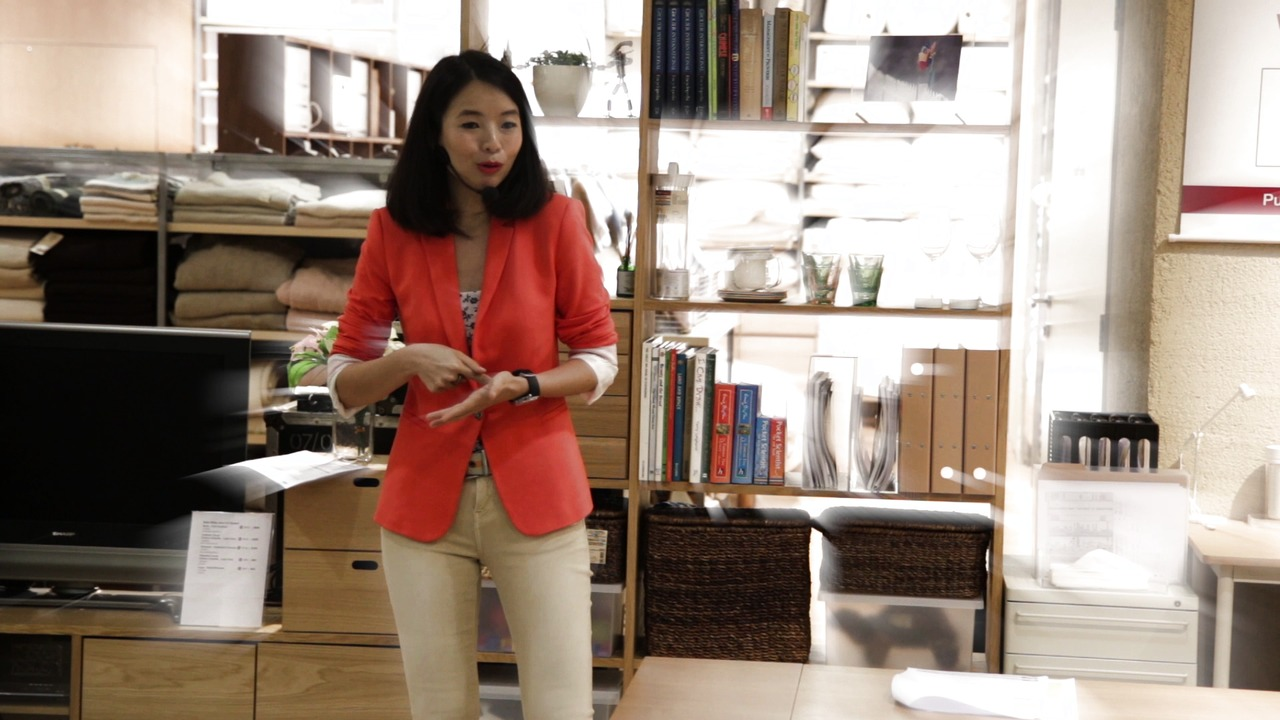 Maximizing Your Storage Space - Edits Inc workshop at Muji's 11th Anniversary celebrations, Apr 2014