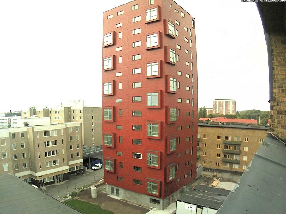 Bygget av Bohus vid Dalaplan på 3 minuter