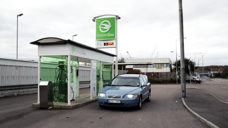 Matavfall blir biogas