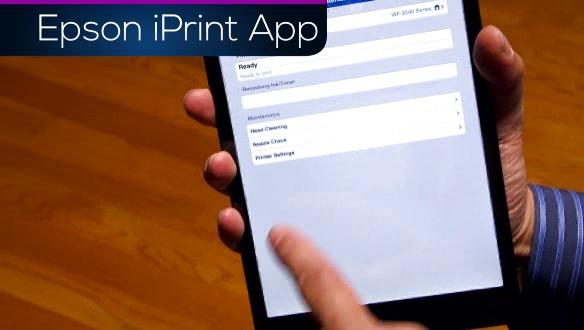 Epson iPrint App