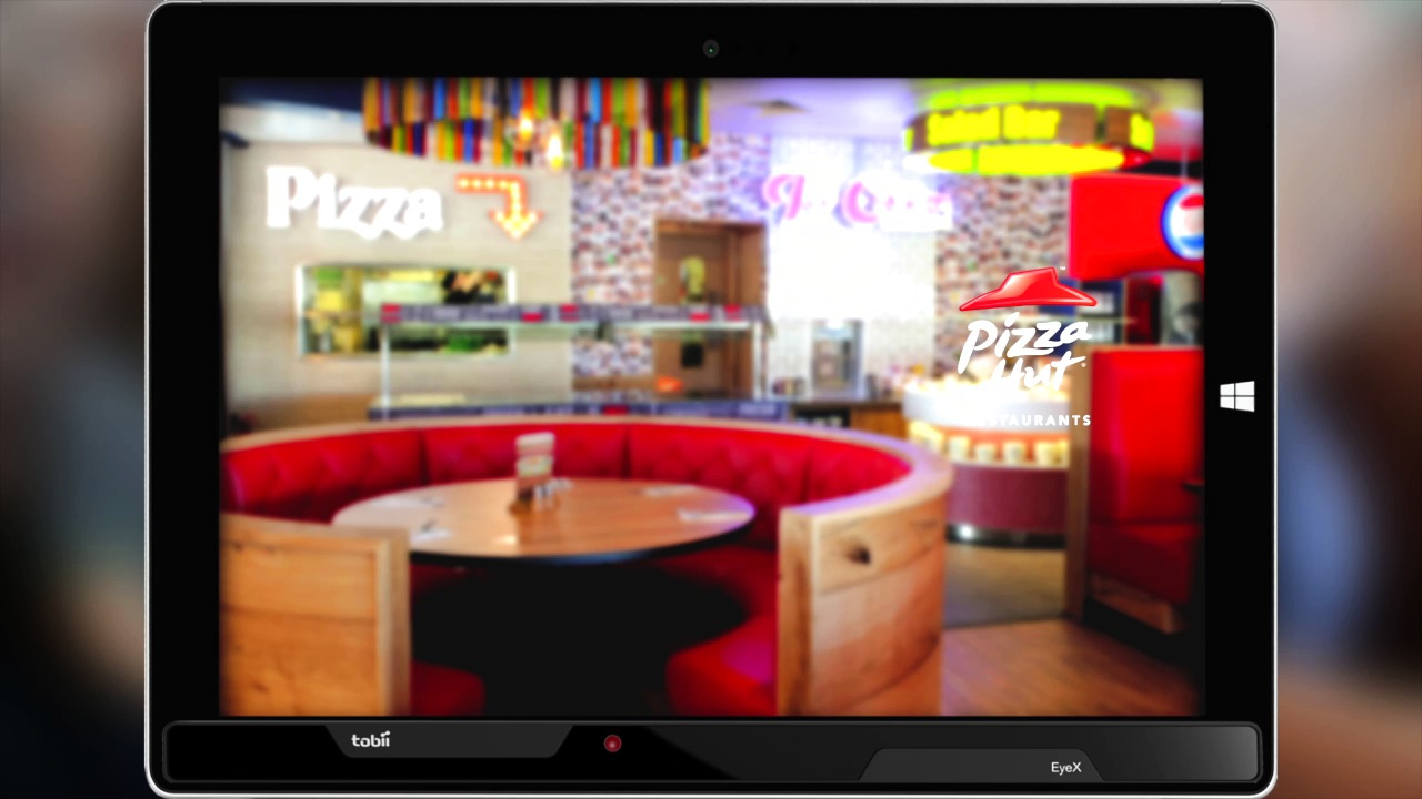 Pizza Hut Restaurants Subconscious Menu with Tobii Eye Tracking