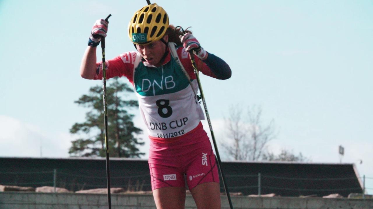 Test race Norwegian women's national biathlon team