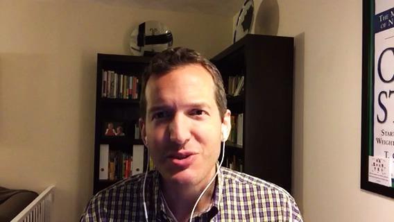 Amerikanske författaren dr Tom Campbell lyckönskar den svenska lanseringen av Kinastudien från Soulfoods Publishing