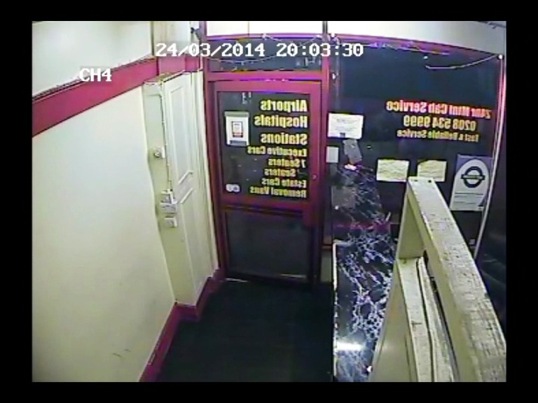 Mohammed Yasser Afzal murder: CCTV of the defendant at the scene.