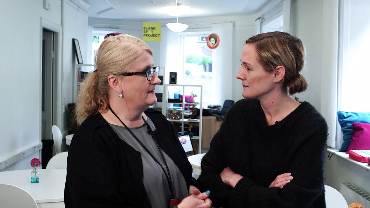 Lina Thomsgård och Brit Stakston