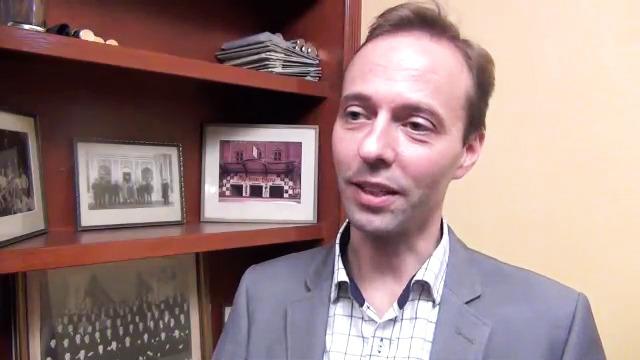 Intervju med Simon Ekman - mottagare av Stödets lungcancerstipendium 2014
