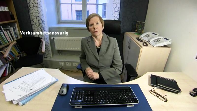Andrea på väg - svensk syntolk