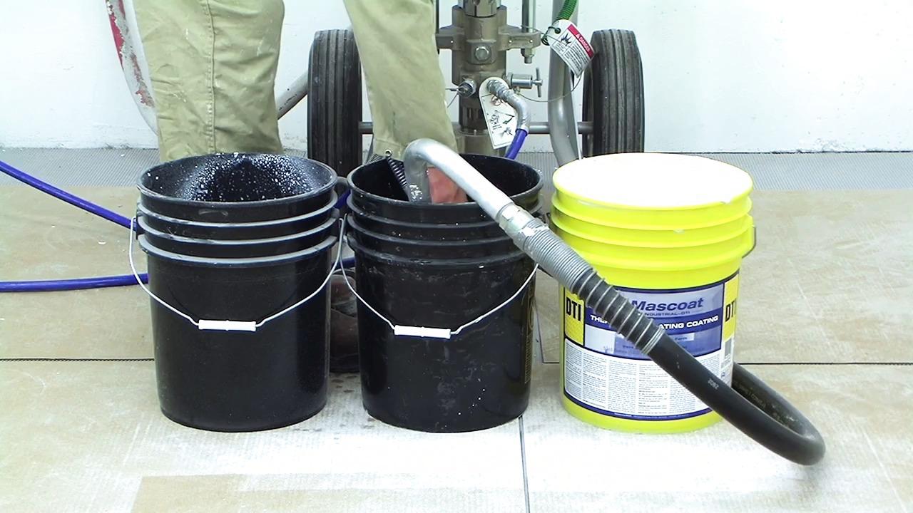 Steg 4 Mascoat: Tvätta rent