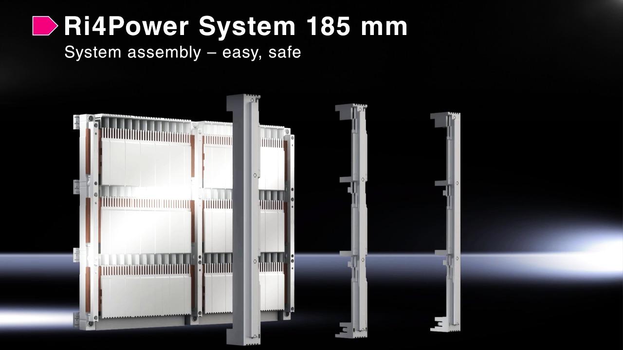 Rittal breddar Ri4Power för lågspänningsställverk.