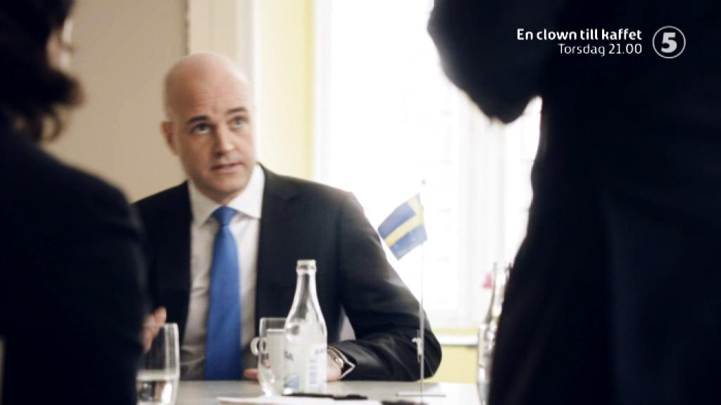 Måns Möller Clown till Kaffet Kanal 5