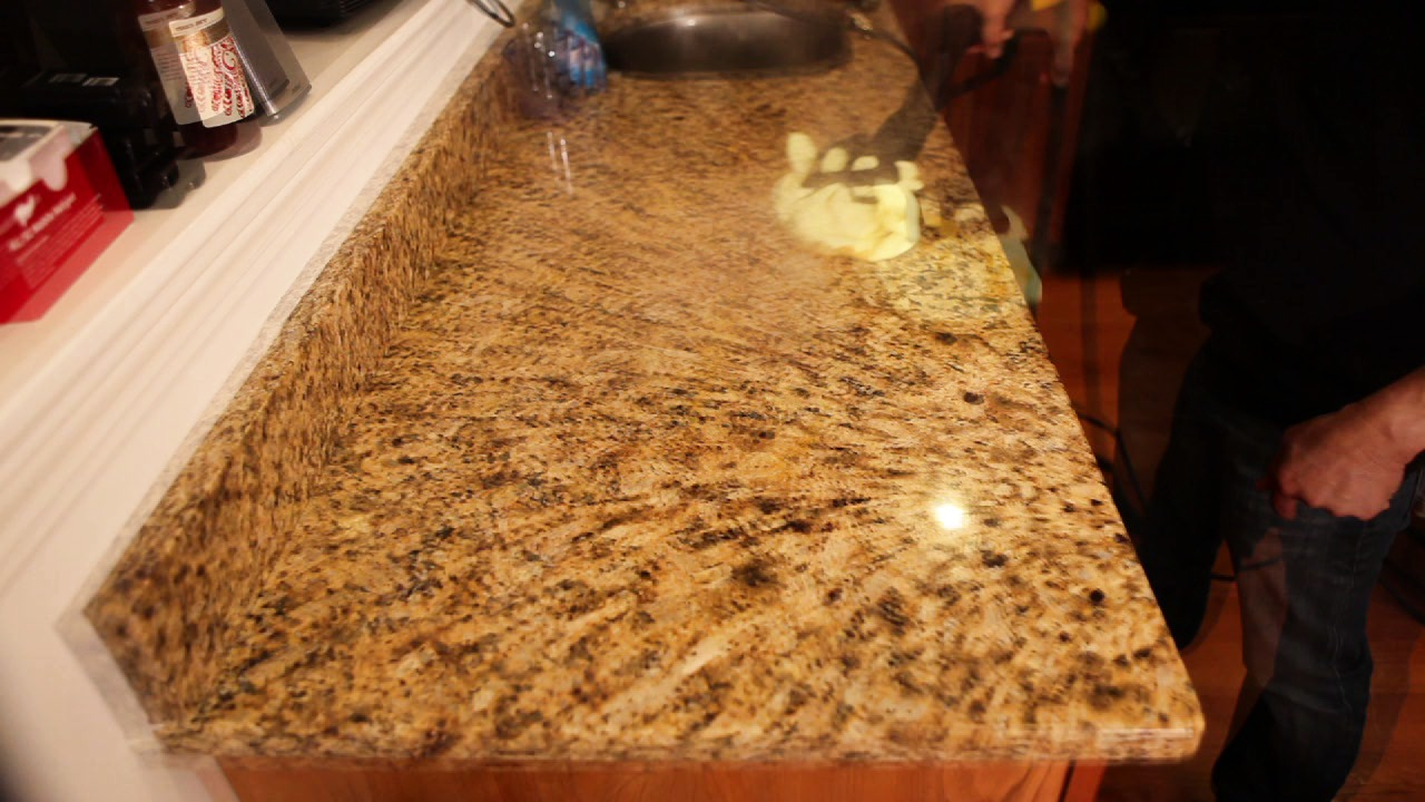 How to Steam Clean Granite Countertop