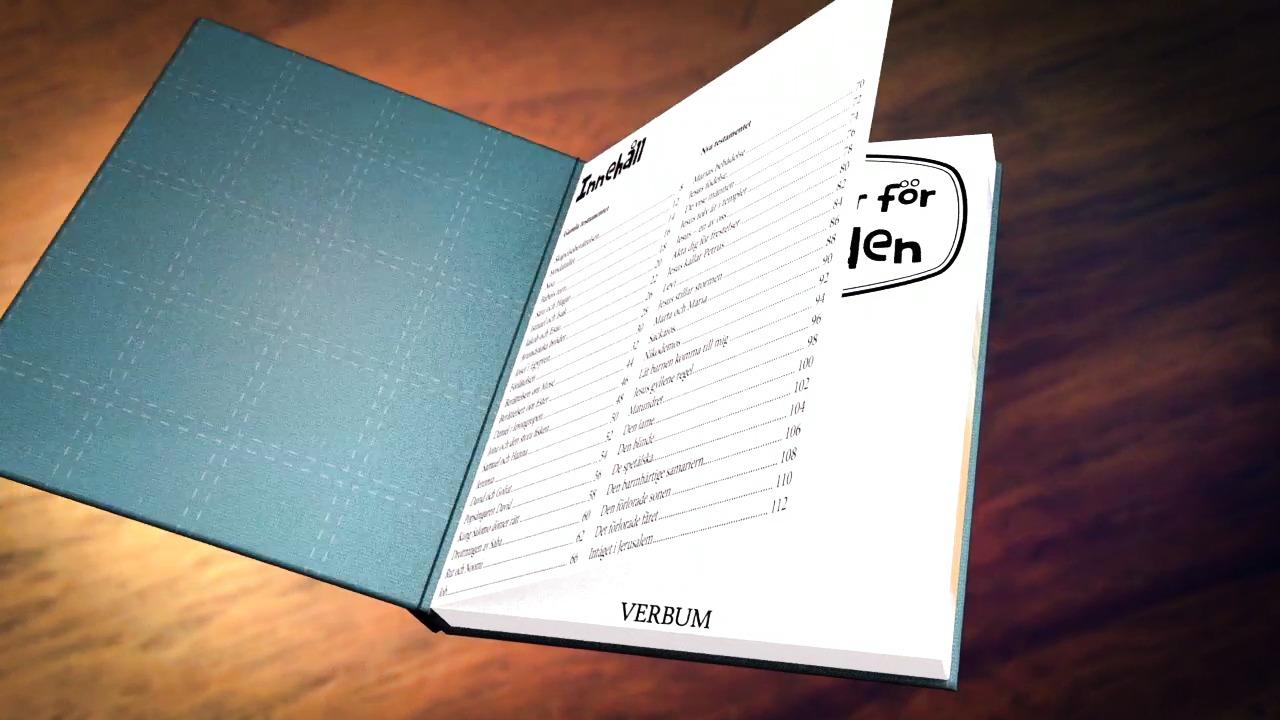 NY BOK: Bibelberättelser för barn i Norden