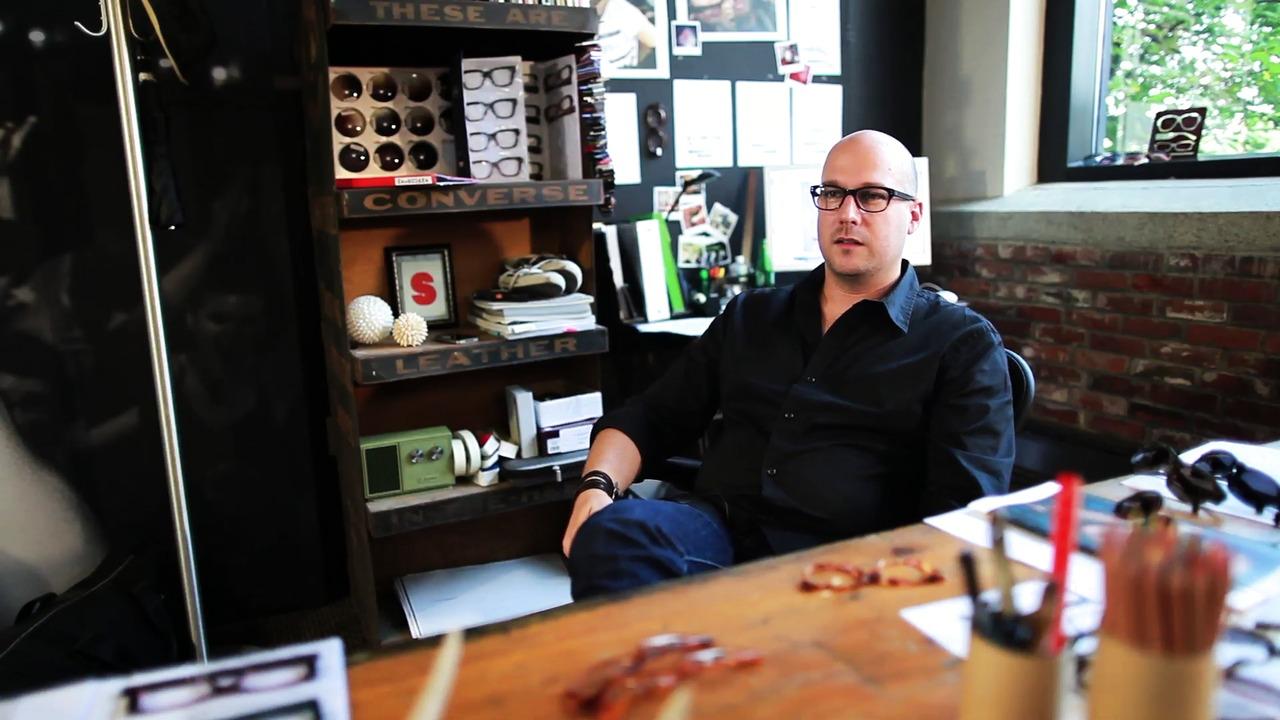 Specsavers intervju med Nicolaus Roseillier, Creative Director Converse Eyewear