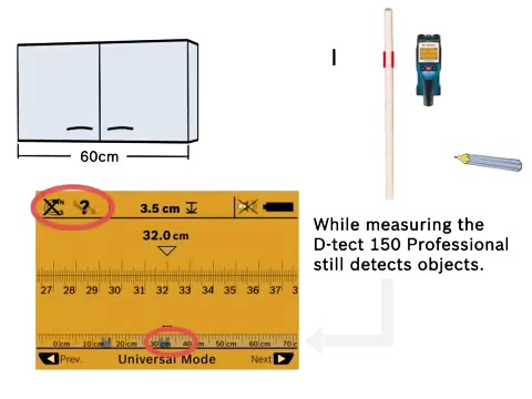 Bosch Regelsökare - D-tect 150