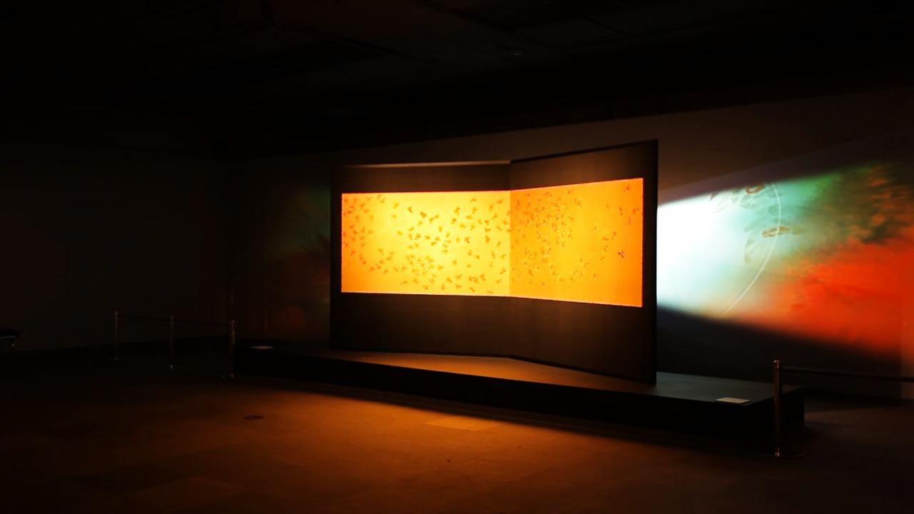 Exhibition Kataoka Tsurutaro  Kanreki Kurenai