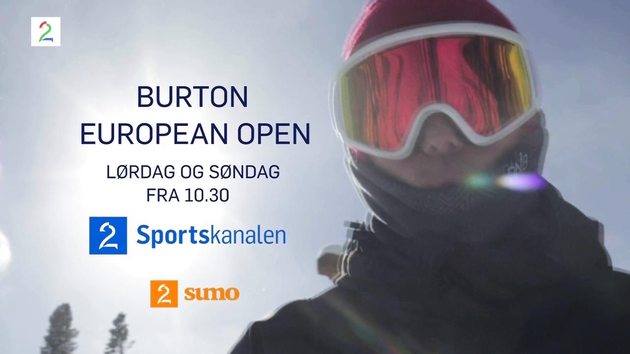 Snowboard på TV 2 Sportskanalen og TV 2 Sumo