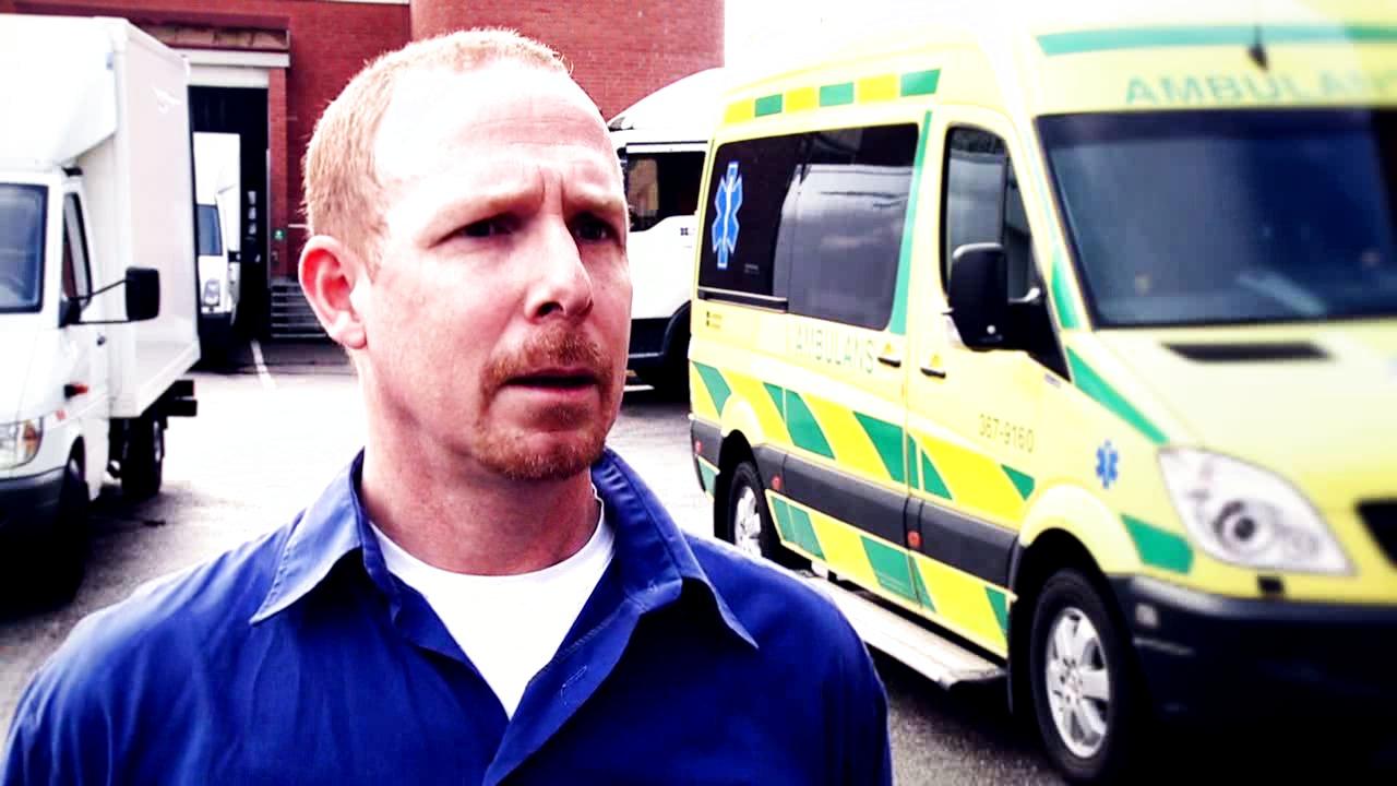 Cambio COSMIC i ambulansen Landstinget Kronoberg