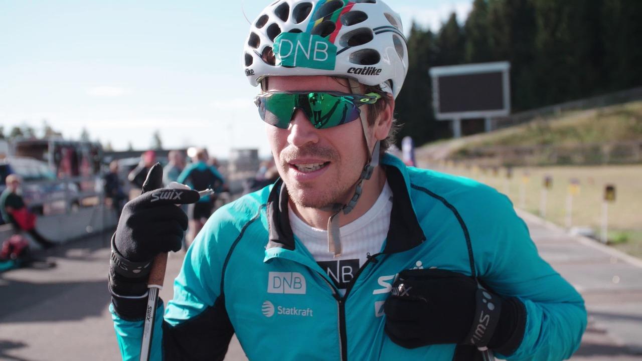 Test race Norwegian men's national biathlon team