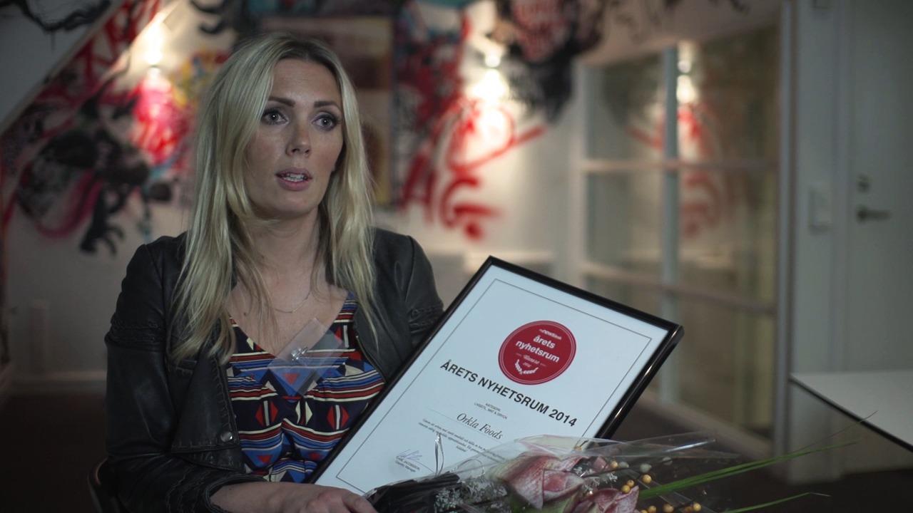 Orkla Foods om varför just de vann Årets Nyhetsrum i kategorin Livsstil, Mat och Dryck