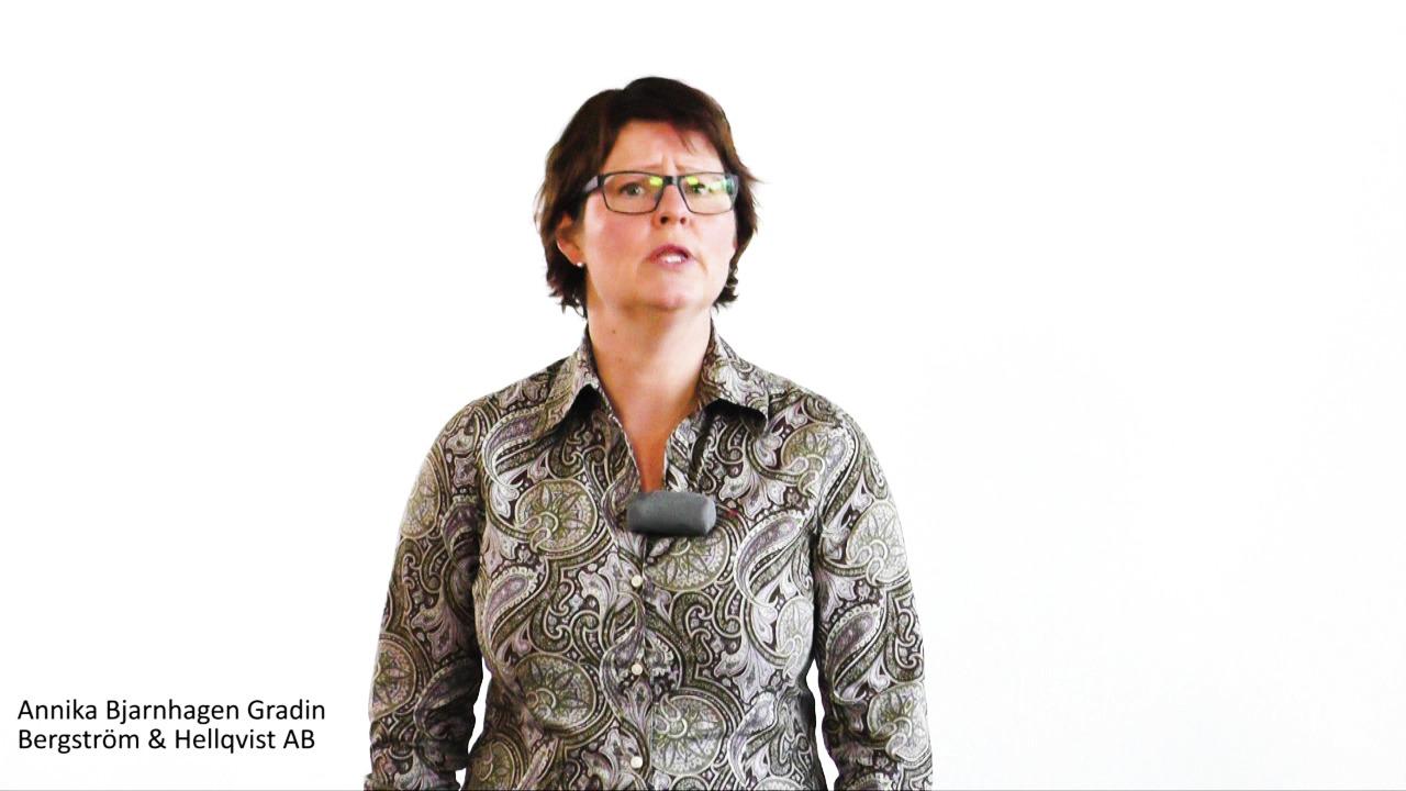Fördjupning matsäkerhet Storhushåll Annika B Gradin