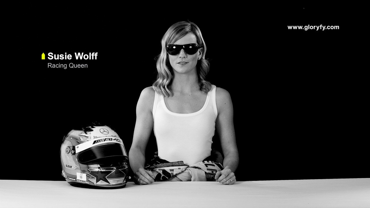 Gloryfy Heroe - Susie Wolff promotion video