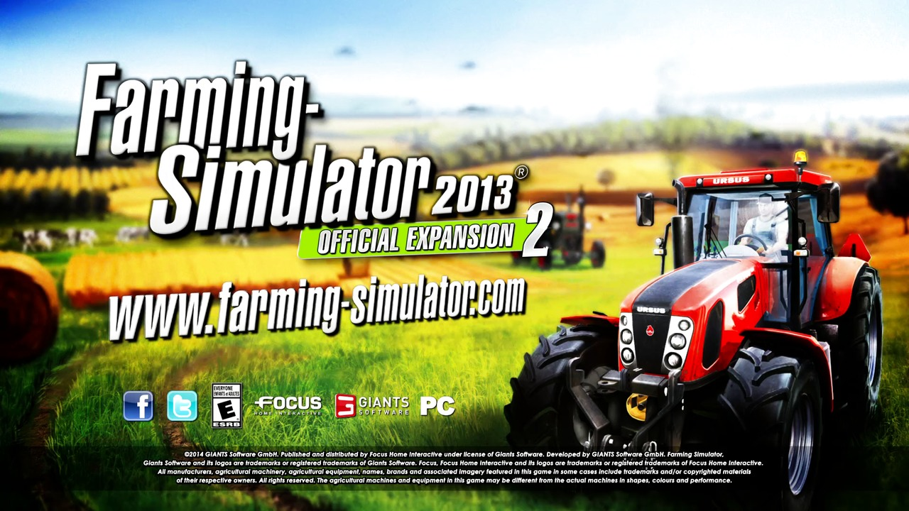 Farming Simulator 2013 Official Expansion 2 - Trailer