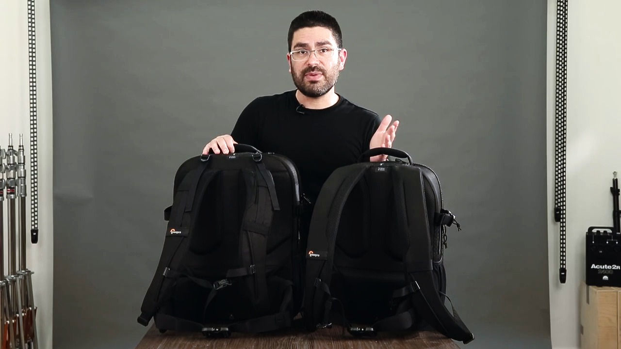 Lowepro Pro Runner II series, video