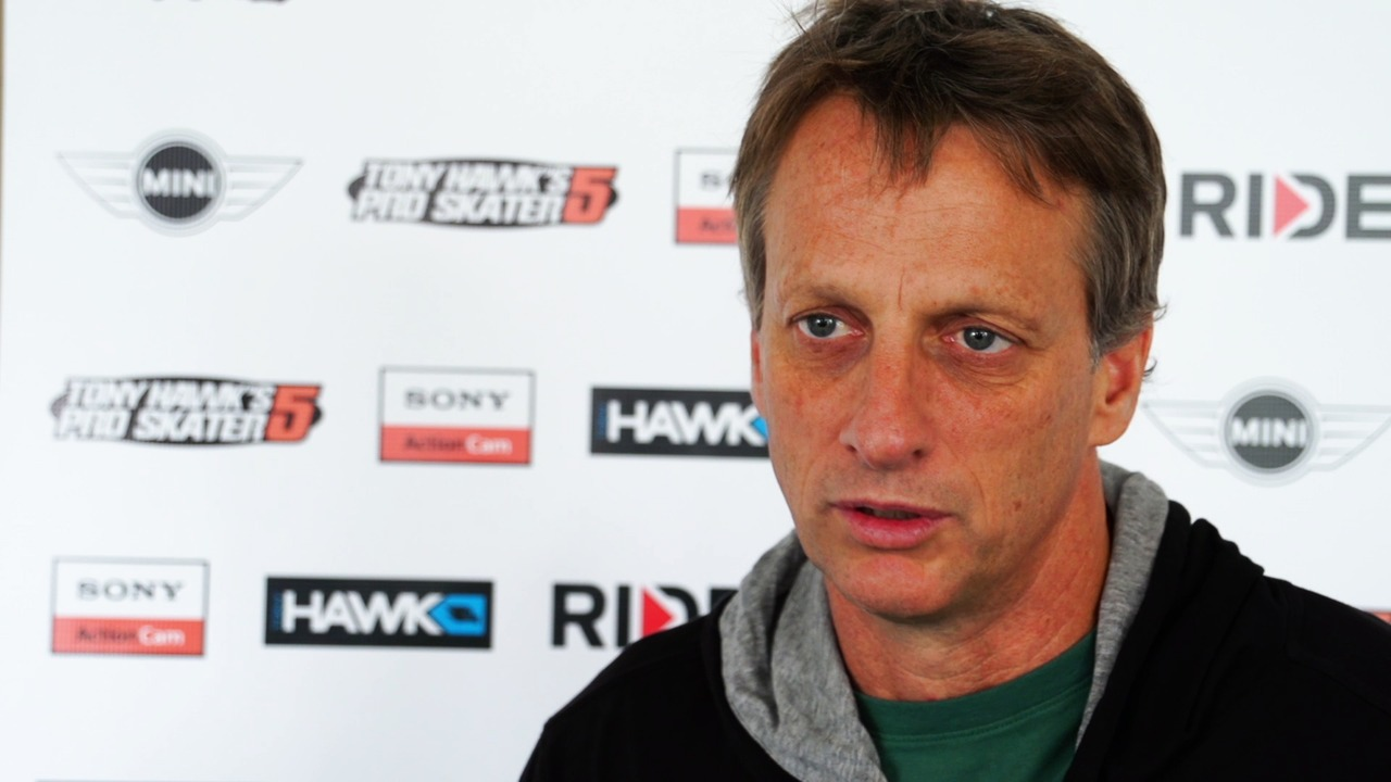 Tony Hawk interview