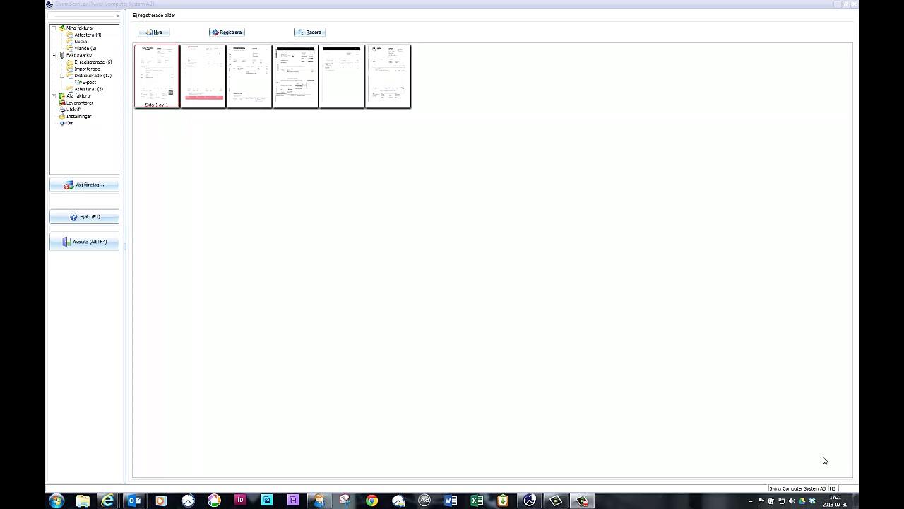 Stöd för hantering av QR-koder i nya Swinx ScanLev