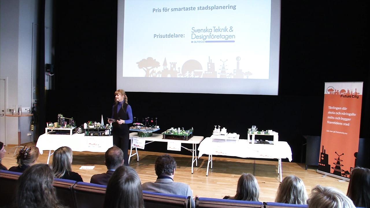 Prisutdelning 2015: Svenska Teknik&Designföretagens pris Smartaste stadsplanering