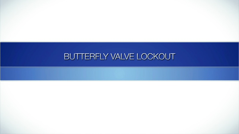 Brady Butterfly Valve Lockout Device