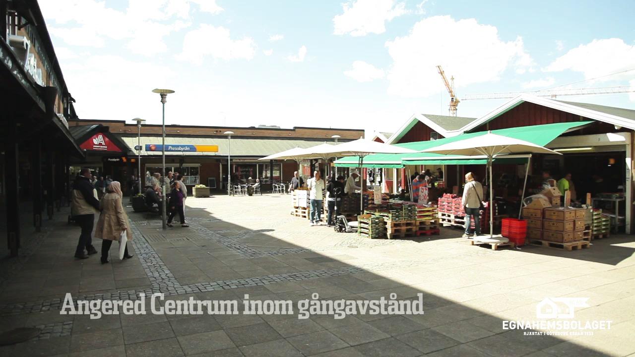 Film från Göteborg, Gunnareds Kyrkby i Angered, av Egnahemsbolaget