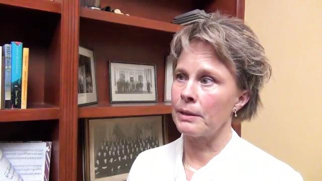 Intervju med  Carina Nuse - mottagare av Stödets lungcancerstipendium 2014