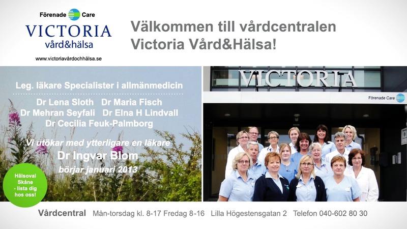 Victoria Vård&Hälsa växer