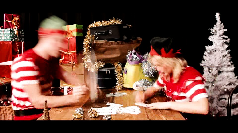Virgin Trains Elves Launch Bag Magic